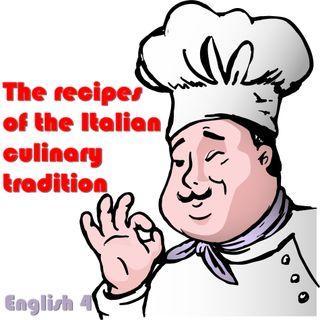 Italian culinary tradition, english 4