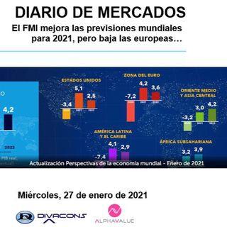 DIARIO DE MERCADOS Miércoles 27 Enero