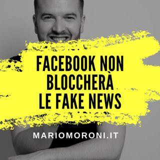 Facebook non controllerà le fake news negli annunci politici