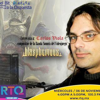 209 - Entrevista a Carlos Viola Iborra Compositor de Blasphemous