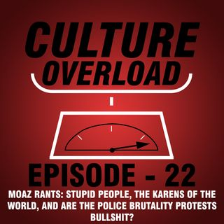 EP 22 - MOAZ RANTS: STUPID PEOPLE, THE KARENS OF THE WORLD, AND ARE THE POLICE BRUTALITY PROTESTS BULLSHIT?
