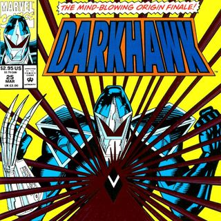 "Unspoken Issues #11 - Super Blog Team Up - ""Chromium"" - ""Darkhawk"" #25"