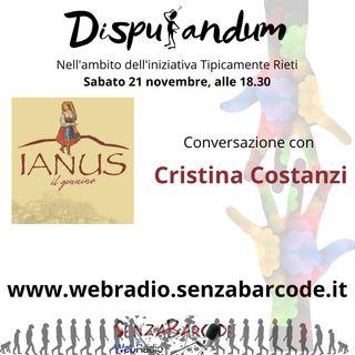 Ianus il genuino, con Cristina Costanzi