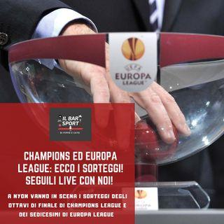 Bonus Track - Europa League, LIVE e analisi del sorteggio dei sedicesimi