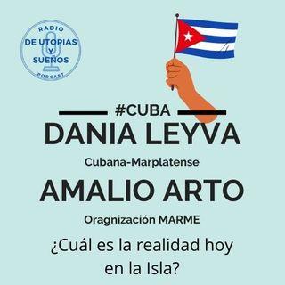 #Cuba Dania Leyva y Amalio Arto Nos hablan de la Realidad del Momento