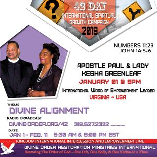 Whosoever is of a willing heart  | Apostle Paul Greenleaf | 42 days Divine Alignment