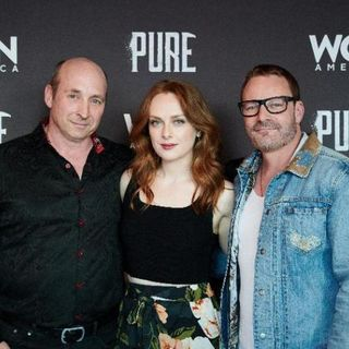 Ryan Robbins and Alex Paxton Beesley From Pure Season 2 On WGN
