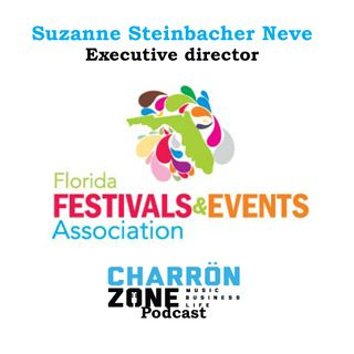 Showcasing to book Festival gigs w/ FFEA's Executive Director Suzanne Neve