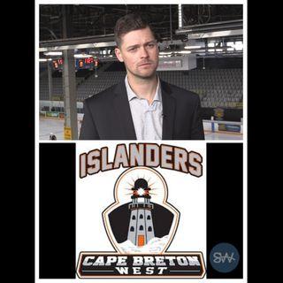 CB West Islanders Head Coach Nick MacNeil
