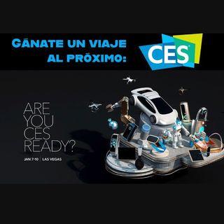 Gánate un viaje al próximo CES 2020! hablemos de ello hoy en TekPulse Live!