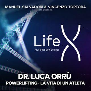 18 - LifeX - Allenamento in ottica powerlifting e vita dell'atleta