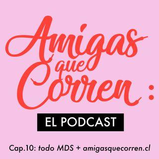 Maratón de Santiago y blog