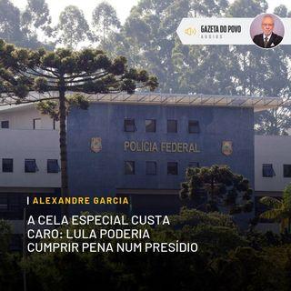 A cela especial custa caro: Lula poderia cumprir pena num presídio