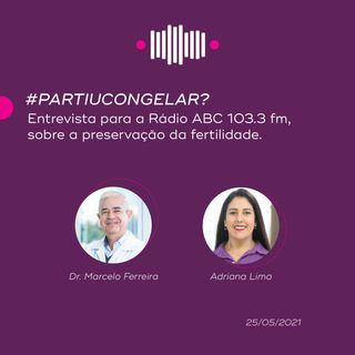 #PartiuCongelar? - Entrevista para a Rádio ABC 103.3 fm