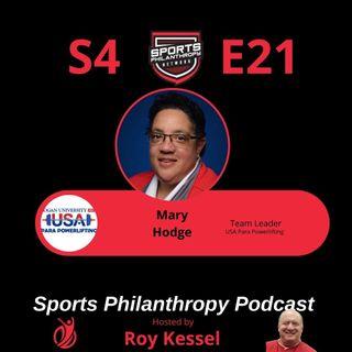 S4:EP21--Mary Hodge, USA Para Powerlifting