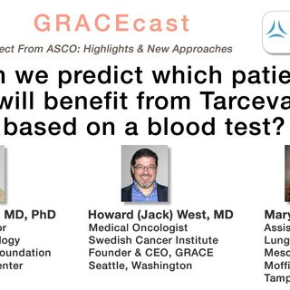 Can we predict which patients will benefit from Tarceva based on a blood test?