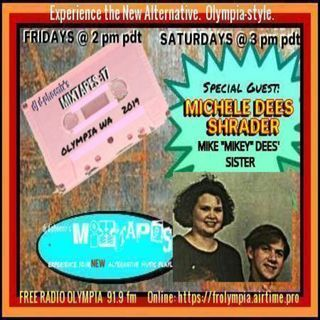 MiXTAPES:17 9.21.19 Saturday Edition w/ Special Guest MICHELE DEES SHRADER & AMIE X