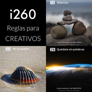i260 Reglas para CREATIVOS 13-22-26
