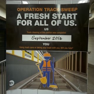Operation Track Sweep