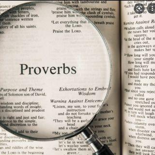 The Book of Proverbs- (Pre-Rec)