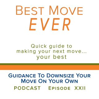 Guidance To Downsize Your Move On Your Own