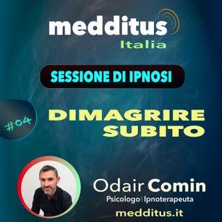 #04 Ipnosi per Dimagrire Subito