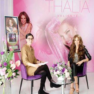 Thalia en el Buen Regreso a Casa