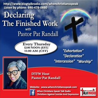 "MIND RENEWAL PT 7: ""POWER OF CHOICE"" on Declaring The Finished Work - Pastor Pat"