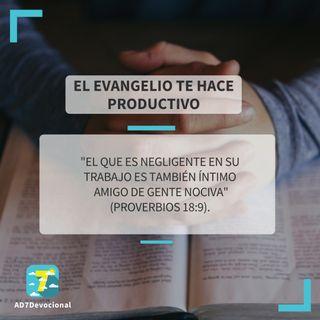 29 de mayo - El evangelio te hace productivo - Una Nueva Versión de Ti 2.0 - Devocional Jóvenes