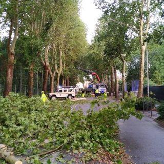 Maltempo, a Vicenza aperto il centro della protezione civile, chiuse via Giuriolo e Rodolfi