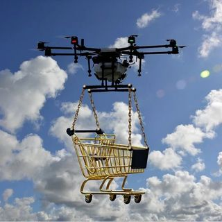 Wayne Brown discusses food delivery by drone in his latest tech slot