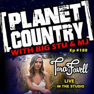 #188 - Tara Favell live in the studio