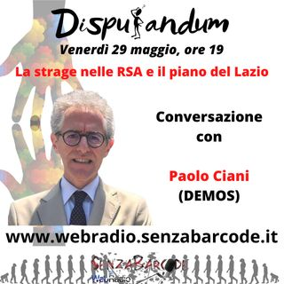 Paolo Ciani, DEMOS. Istituti per anziani, come intervenire