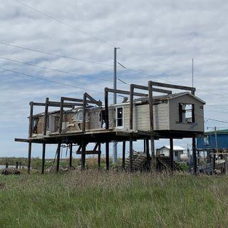 Der Süden Louisianas versinkt im Meer