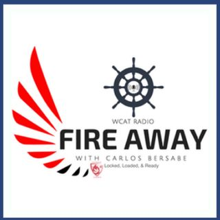 Fire Away 50, Chris Lewis of Baritus Catholic Illustrations joins Carlos Bersabe