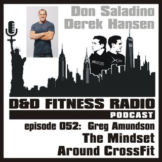 Episode 052 - Greg Amundson:  The Mindset Around CrossFit
