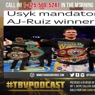 ☎️Oleksandr Usyk Named as WBO Mandatory Challenger for Joshua vs Ruiz Winner😱