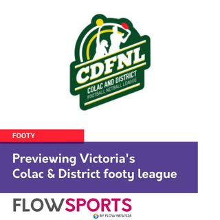 Wayne 'Flowman' Phillips previews Colac Districts footy round 6