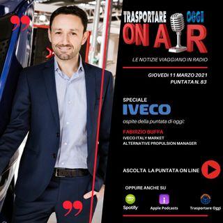 Puntata 83/2021 del 11 marzo - SPECIALE IVECO - Ospite: Fabrizio Buffa