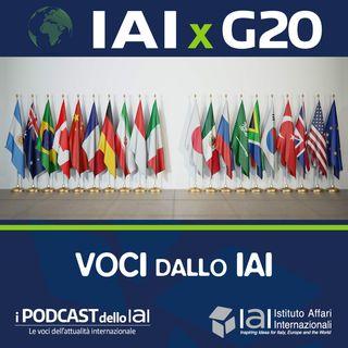 Lo IAI per il G20