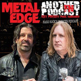METAL EDGE PRESENTS ROCK N POD INTERVIEWS - ACE VON JOHNSON - TORA TORA - THE TALISMEN - BRANDON COOK