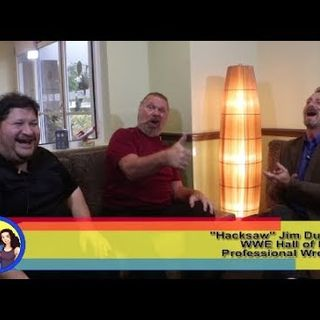 Let's Hear The HO! WWE Hall of Fame Wrestler Hacksaw Jim Duggan on the Hangin With Web Show