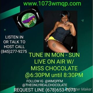 The Miss Chocolate Show Live at 6:30pm