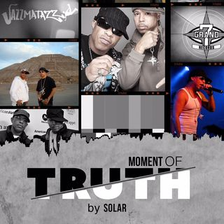 Producer Solar discusses G.U.R.U. and new book #MomentofTruth on #ConversationsLIVE