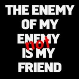 My Enemy Is Your Friend