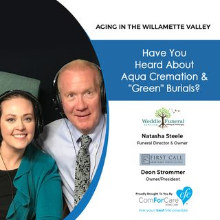 5/21/19: Natasha Steele with Weddle Funeral Service & Deon Strommer with First Call Mortuary Services | Have you heard about Aqua Cremation?