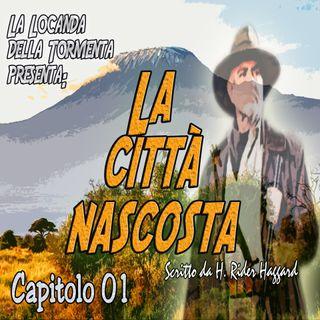 Audiolibro La città nascosta - H.R. Haggard - Capitolo 01 - Ciclo di Quatermain #2