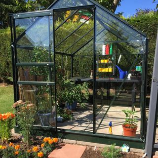 Halls Qube Greenhouses | 800 098 8877 | greenhousestores.co.uk