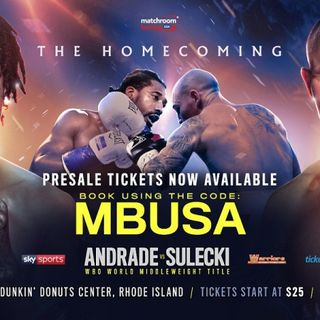 Inside Boxing Daily: Weekend fight previews, are Andrade and Charlo being ducked, and what happens if Alvarez fights Kovalev