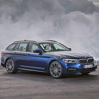 Bayerske husmødre og verdens mest komplette stationcar - BMW 5-serie Touring sammen med JP's Christian Schacht